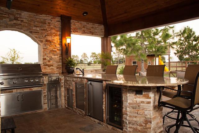 outdoor kitchens houston katy cinco ranch custom