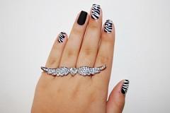 Unhas de zebra (Juh Sandis) Tags: cool nice nail bonito nails fofo legal unhas unha decorada