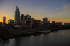 Music City Magic Hour (Tom Frundle Photography) Tags: sunset sky reflection skyline river downtown cityscape nashville pentax magic hour k5 downtownnashville nashvilleskyline nashvilletennesseemiddletennesseetomfrundlepentaxkxaugust2011sundayeveningusasoutheast nashvilletennesseenashvegas2012tomfrundletomfrundlephotography