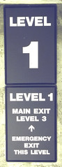 Life Safety Level & Egress Sign