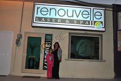 DSC_0093.JPG Nora Ibarra Propietaria de Renouvelle Laser y Spa en compañía de su hija Daniela Handal