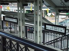 Exterior Wayfinding Transit Signage