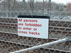 Exterior Regulatory Transit Signage