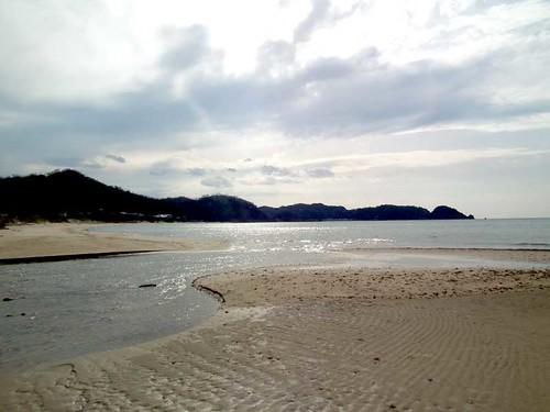 浜坂周辺の海辺