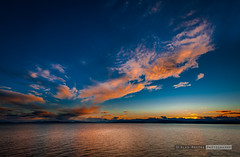 Sunset (vk1962) Tags: ocean sunset canada ferry vancouver clouds spectacular island nikon bc d700