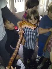 Kinderfeestje in Amsterdam met Exotus Serpenti