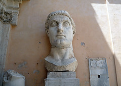 The Colossus of Constantine (head