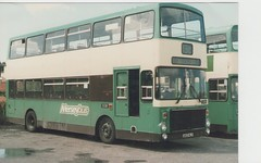 Merseybus volvo ailsa circa 1980s (Burt lunt) Tags: volvo ailsa a163 hlv merseybus