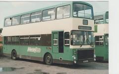 Merseybus volvo ailsa circa 1980s (Burt lunt) Tags: volvo ailsa a163 hlv merseybus