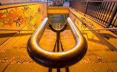 Endschleife (diwan) Tags: city canon germany underpass geotagged deutschland eos graffiti place tunnel treppe magdeburg stadt unterfhrung fotogruppe treppengelnder saxonyanhalt sachsenanhalt 2013 canoneos650d fotogruppemagdeburg geo:lon=11623109 geo:lat=52132034