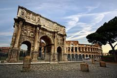 When in Rome (Carlos Gotay Martnez) Tags: italy rome stone amphitheatre coliseum marble romanempire gladiator titus colosseo gladiators archofconstantine flavianamphitheatre flavius anfiteatroflavio amphitheatrumflavium gladiatorialgames