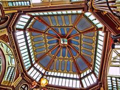 Leadenhall Market (lloydboy52) Tags: england color london leadenhallmarket victorian ceiling newmoon hdr greatbritian newmoonpub