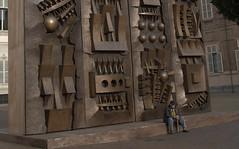 DSC_7066 Arnaldo Pomodoro a Torino - Explore (angelo appoloni) Tags: sculpture torino italian italia arte contemporary great artists di piazza palazzo castello pomodoro reale artisti scultura arnaldo contemporanea grandi