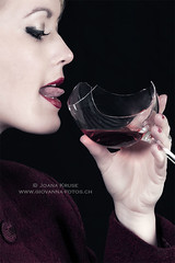 broken glass (Ticino-Joana) Tags: woman girl female person caucasian drink drinking wine glass wineglass broken mouth redwine tongue hand finger fingers portrait details black dangerous edgy fragments brokenglass fragment piece pieces acute sharp sharpedged cutting cut red