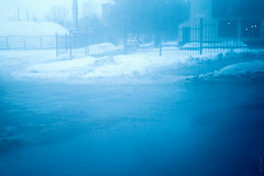 (FeeshKA2) Tags: blue winter snow cold window car landscape moscow samsung freeze sorrow 30mm nx nx11 feeshka