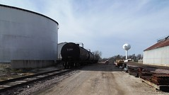 Nevada, Iowa, Union Pacific Railroad, Tank Cars, Siding (photolibrarian) Tags: siding tankcars unionpacificrailroad nevadaiowa