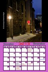 12 DEC St-Dominque Street at Night (fotoproze) Tags: kalender calendars calendari kalendar  lch calendarios   calendrios dagatal  kalenders kalendari calendaris calendriers egutegiak  kalendarze calendare kalendere  kalendrar naptrak  kalende kalenterit   filir  kalendra koledarji takvimler  calendrau