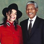 1993 - With Nelson Mandela & Elizabeth Taylor