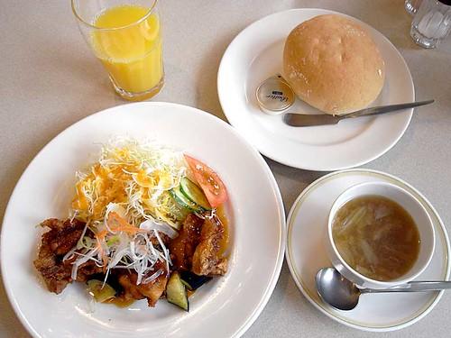 2012年12月5日の昼ご飯