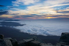 Ebb Tide (eevy24012) Tags: sunrise virginia mountainview blueridgemountains sharptop peaksofotter