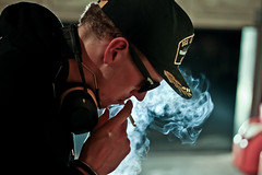 blue smoke (Tessa Beligue) Tags: people pa dope swag hotness swagger soulportrait chaseclement illportrait dopeportrait
