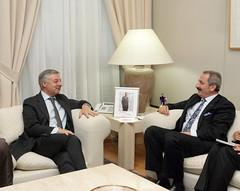 3.José Blanco López, ex-Ministro de Fomento y Zafer Caglayan, Ministro de Economía de Turquía