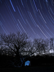 Star Trails at Valley Forge (MurrayH77) Tags: park night star trails pa valley 7d forge