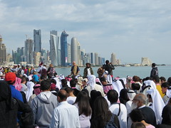 2012 -   (Feras Qaddoora) Tags: festival december day state national corniche 18 2012 doha qatar