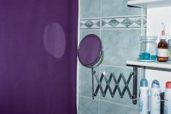 violet (giacomo tiberia) Tags: contax kodak ishootfilm violet mirror indoor