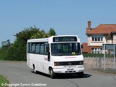 All Hands On Deck (Cymru Coastliner) Tags: voelcoaches dyserth mercedesbenz 811d plaxtonbeaver n104wrc bus denbigh northwales nct nottinghamcitytransport 104