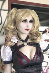 Debbie3 (Florent Joanns) Tags: shoot shooting photo photography portrait harley quinn harleyquinn dc cosplay comics chaos 50mm naturallight modeling marseille makeup 2016
