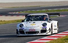 Porsche 911 GT3 R /  Raymond NARAC / FRA / Thierry CORNAC / FRA / IMSA PERFORMANCE (Renzopaso) Tags: porsche 911 gt3 r raymond narac fra thierry cornac imsa performance v de endurance series 2016 circuit barcelona racing race motor motorsport photo picture