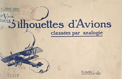 1917. Silhouettes d'avions classes par analogie__03 (foot-passenger) Tags: 1917    franais aviation bnf bibliothquenationaledefrance  wwi gallica