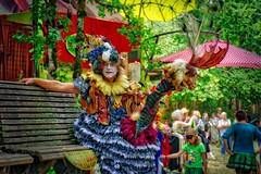 All Dressed Up With Someplace To Go (gr8fulted54) Tags: tonemapped hdr aurorahdr on1 nikon d7100 oregoncountryfair portrait