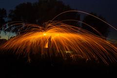 Kenneth (Chiefywonder) Tags: steel steelwool long longexposure fire light lightpainting kenneth dejonghe ledegem black background night
