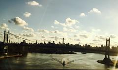 New York 5-0 (The Big Jiggety) Tags: bridge pont puente ponte nyc manhattan gotham boat water sky clouds adventure skyline