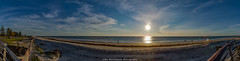 Our Sun Our Star (johnwilliamson4) Tags: adelaide beach blue clouds landscape outdoor panorama semaphore southaustralia sun water australia