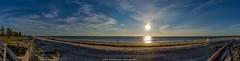 Our Sun Our Star (johnwilliamson4) Tags: adelaide beach blue clouds landscape outdoor panorama semaphore southaustralia sun water australia