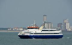 """Prinses Maxima"" (Omroep Zeeland) Tags: ferry fastferry veerboot veerpont prinsesmaxima vlissingen skyline westerschelde"