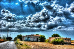La Bergerie (Bruno ArtPhoto) Tags: sicile2016 nikon hdr photomatix view clouds nature tree sky