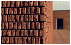 Brick by Brick (Andreas Mezger - Art Photography) Tags: rot brick by weil am rhein basel germany architecture symmetry shapes