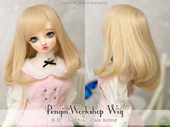 """FS: Pengin Workshop wig / 8-9"""" Sophia / Pale blond (TURBOW) Tags: bjd doll balljointeddoll volks superdollfie sdlieselotte picotfaceup enchanteddolleyes edeyes"""