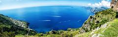sentiero degli dei (Antonio Coniglio) Tags: path gods sentiero degli dei positano agerola natura blue verde mare panoramica d7100 nikon