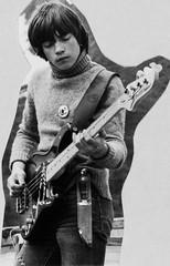 PEM-UNG-00009 Gisle Mathisen, bassist i tromsøbandet Den ellevte finger