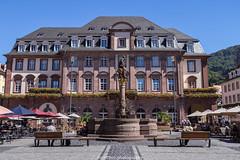 Heidelberg City Hall - August 2016 (boettcher.photography) Tags: heidelberg heidelbergaltstadt august summer sommer germany deutschland badenwrttemberg fountain brunnen cityhall rathaus stadt city sashahasha boettcherphotography