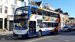 15906 - Stagecoach Lancashire Blackpool September 2016 (Dave Growns) Tags: pe13lsl 15906 stagecoachnorthwest stagecoachlancashire stagecoach lancashire scanian230ud uk bus buses blackpool rigbyroad lowfloor publictransport scaniae400 e400 alexanderscaniaenviro400 alexanderenviro400