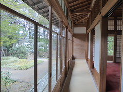 Enclosed verandah (seikinsou) Tags: japan nikko spring tamozawa emperor villa residence palace museum verandah corridor window garden carpet