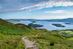 Conic Hill Hike (Gary Ellis Photography) Tags: balmaha scotland summer uk westdunbartonshire afternoon beautiful beauty colorimage colorful colourimage colourful daytime digital environmental exterior field frontview gorgeous hill holidays hot lake landscape landscapephotography liquid loch naturephotography outdoors outside park path recreation sunshine trail unitedkingdom warm water wet