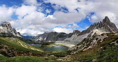 Dolomiti - The Fountain of Salmacis (Gio_guarda_le_stelle) Tags: dolomiti dolomiten dolomites threepeaks lake clouds sky mountainscape alps landscape italy thefountainofsalmacis genesis