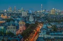 How I see London (aurlien.leroch) Tags: europe uk england london londres skyline over shard cityscape bigben stpauls harrods naturalhistorymuseum bluehour longexposure hdr nikon d3000 londoneye
